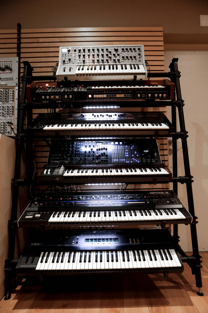 Studio Volta Recordings Wall Of Synths